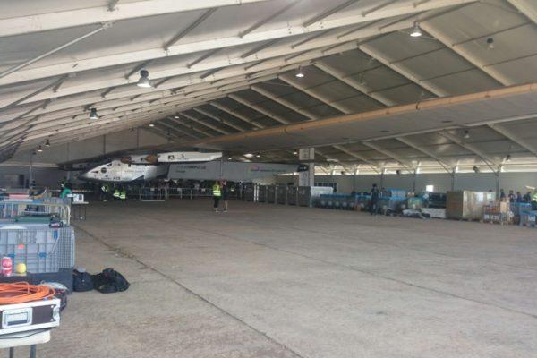 Carpa interior con almacenaje avion 4
