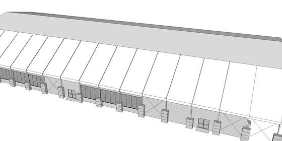 Plano diseño de carpa