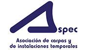 Aspec-Asociación de carpas y de instalaciones temporales